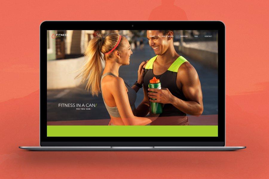 Fitness Trainer  Gym Free PSD Website Template PSDExplorer
