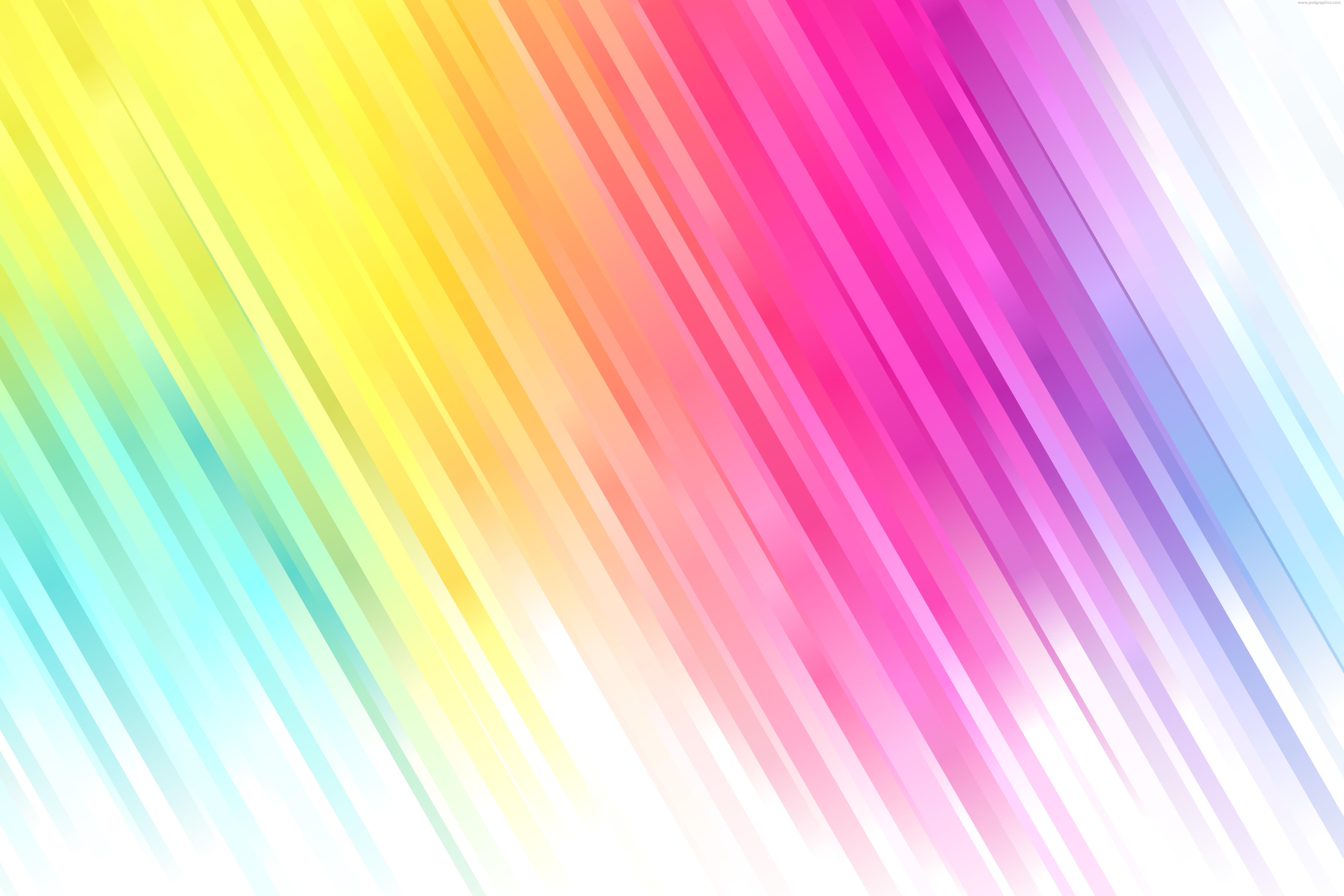 Summer Desktop Wallpaper Hd Colorful Stripes Vector Decoration Psdgraphics