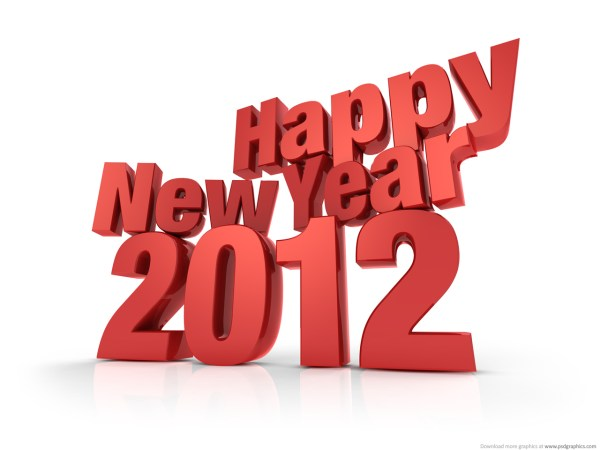 Medium size preview 1280x960px New Year 2012. 1280 x 960.Happy New Year Foto