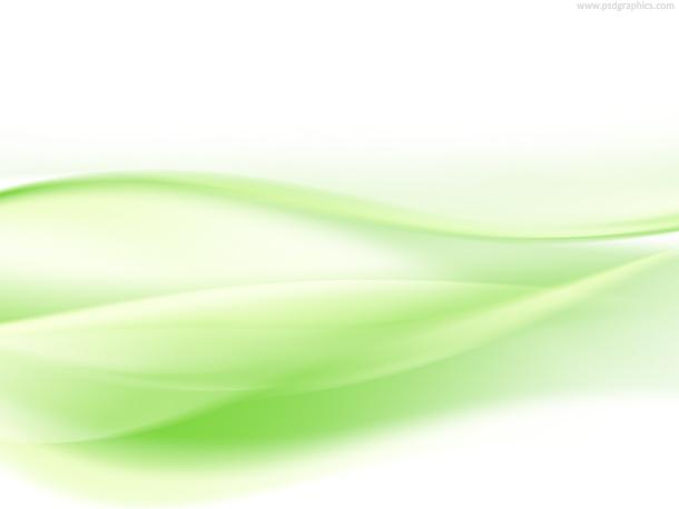 Light green waves background PSDGraphics
