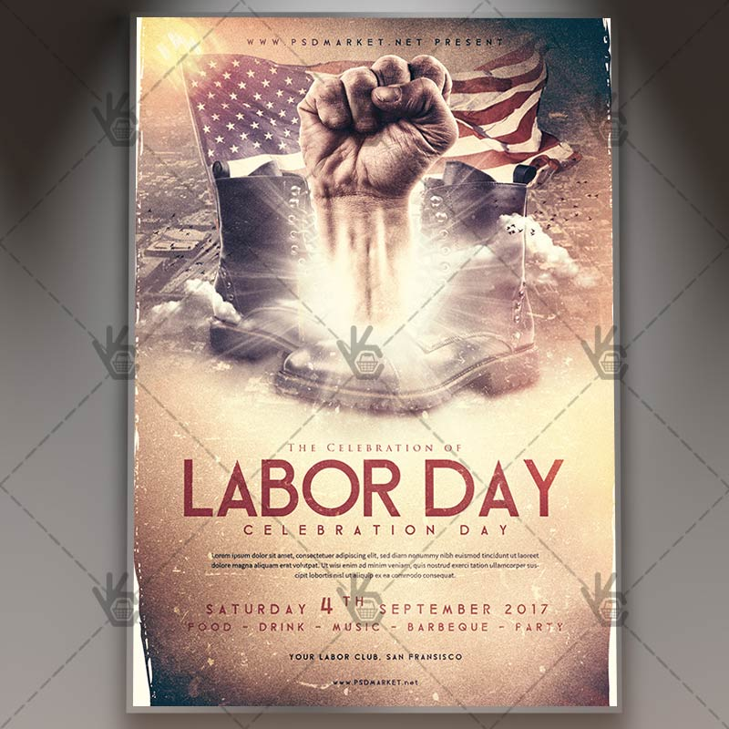 Labor Day - Premium Flyer PSD Template PSDmarket