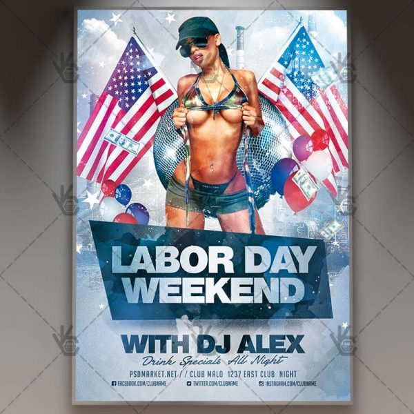 Labor Day Weekend - Premium Flyer PSD Template PSDmarket