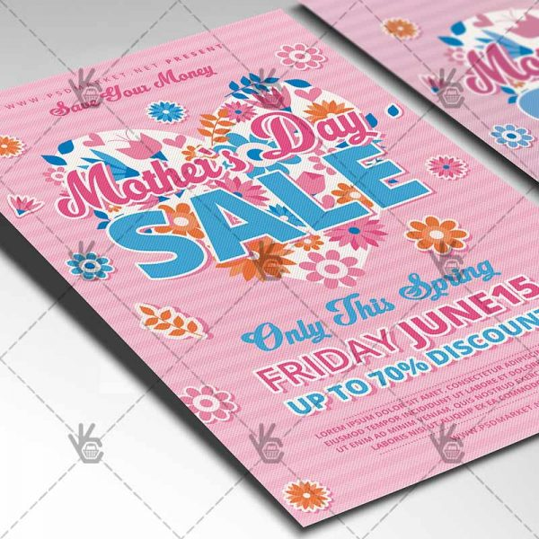 Download Mothers Day Sale Event Flyer PSD PSDmarket - mothers day flyer
