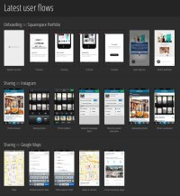 Collection of Mobile Design Patterns for App Ideas - PSD ...