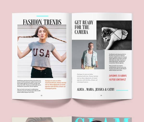 28+ Free Magazine Mockup PSD Templates - PSD Stack