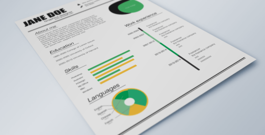 Fresh Resume Template - AI