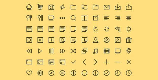 simple-icons-free-psd