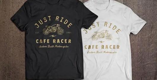 Black & White Free T-Shirt Mock-ups & Templates