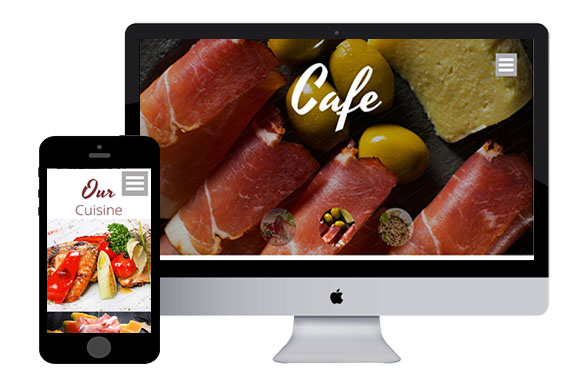 CookCafe Responsive Html5 Template