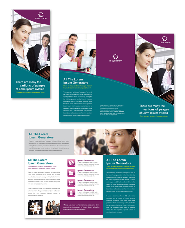 65+ Print Ready Brochure Templates Free PSD InDesign  AI Download