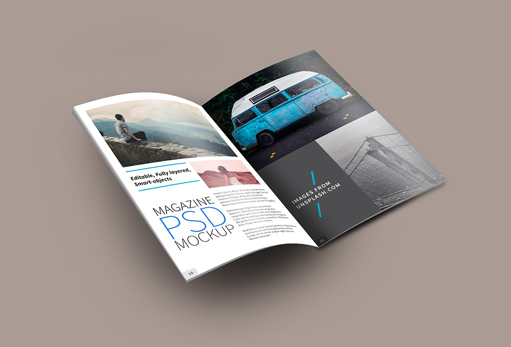 24+ Magazine Mockup Templates Free PSD Download - PSDTemplatesBlog