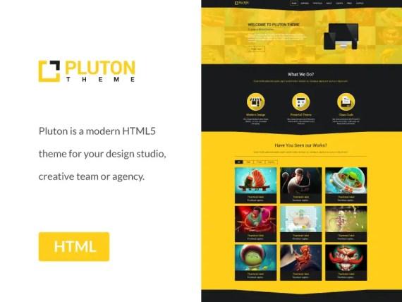 Pluton - Modern Multipurpose HTML5 CSS3 Landing Page