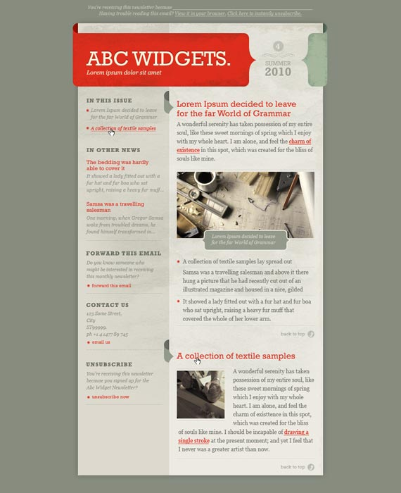 Brace Email Newsletter Template