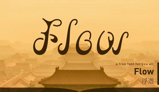 Flow Font Free