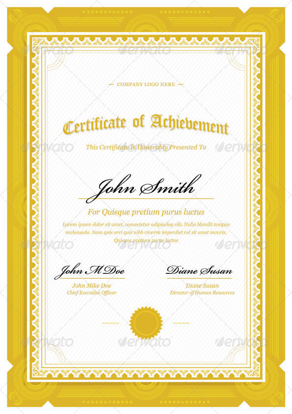 certificate border templates