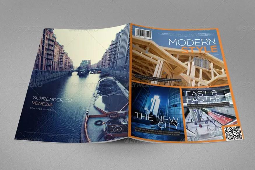 Modern Style Magazine Template