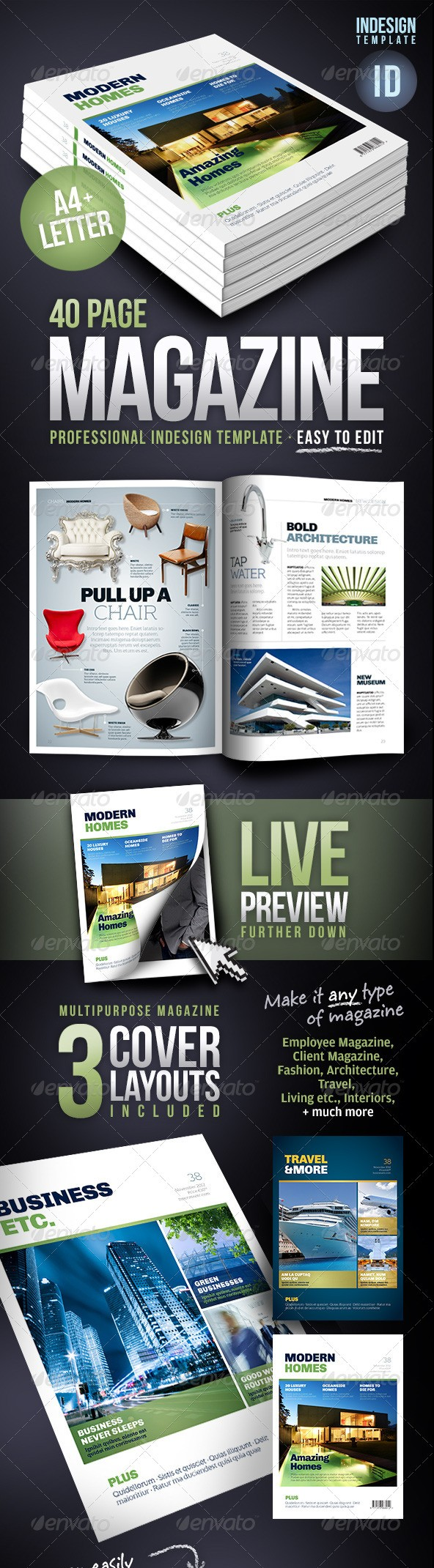 Indesign Template Torrent. indesign pro magazine template kalonice ...