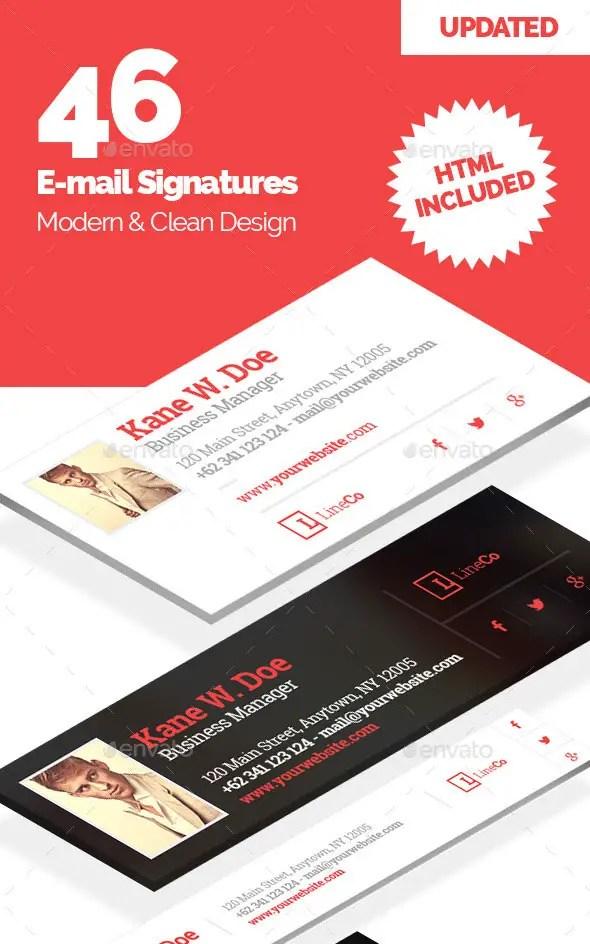 46 Email Signature Templates