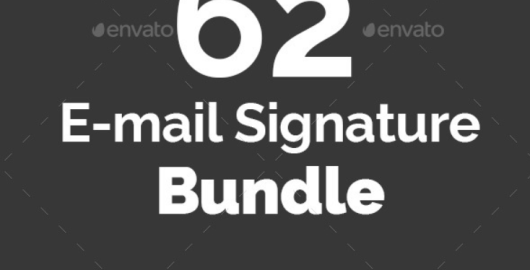 email Signature Templates Bundle