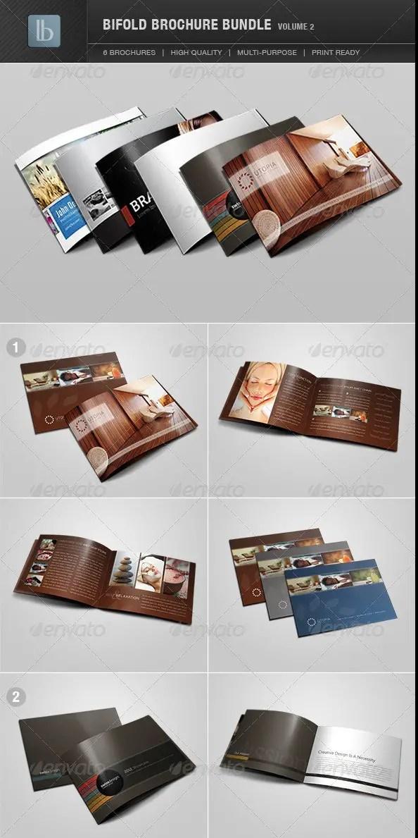Bi-Fold Brochure Bundle - Volume 2