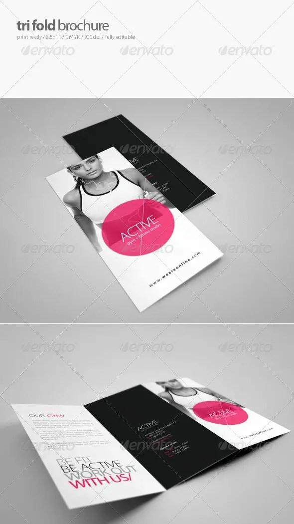 Fitness Tri-Fold Brochure 2