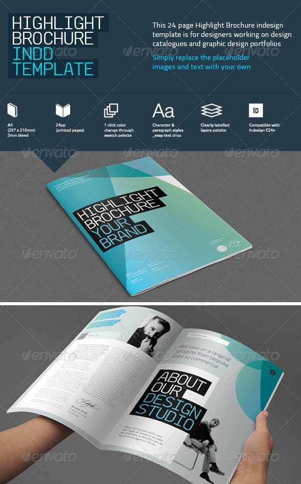 Highlight Brochure Template