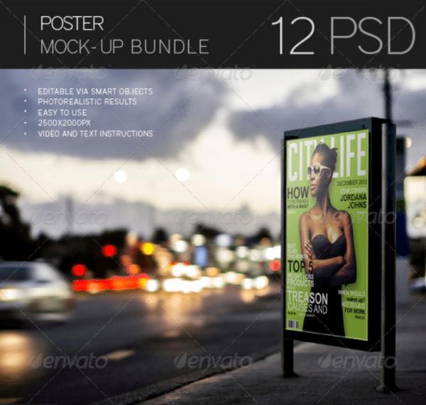 Poster Mock-Up Bundle
