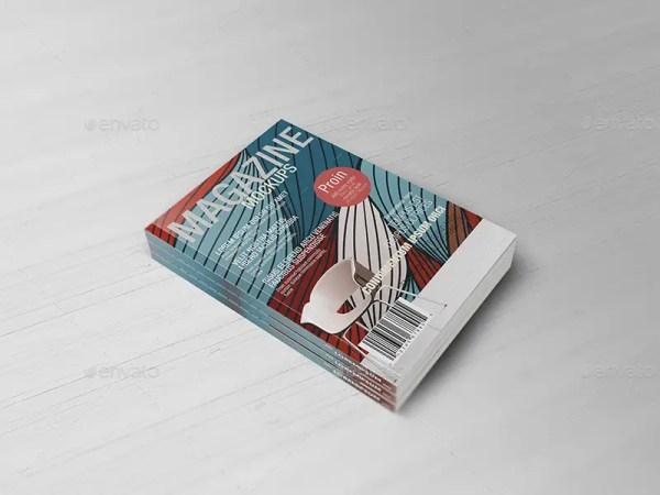 Realistic Magazine Mockups V2