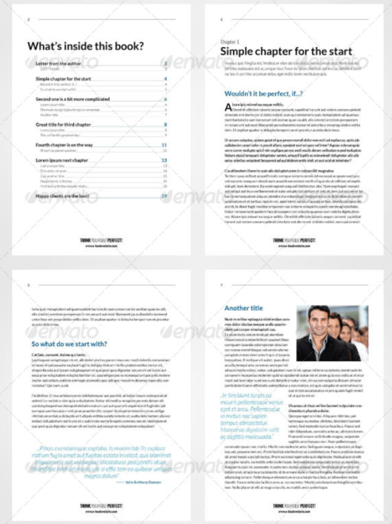 25 indesign ebook templates for self publishers authors