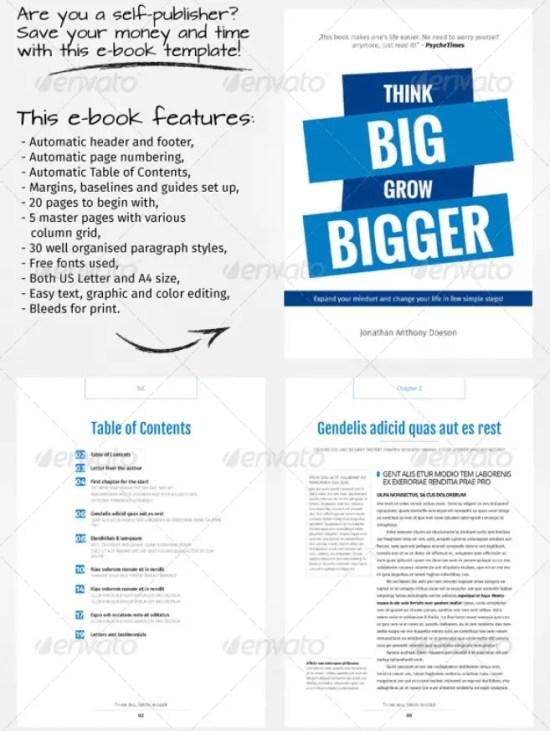 indesign book templates - Paso.evolist.co