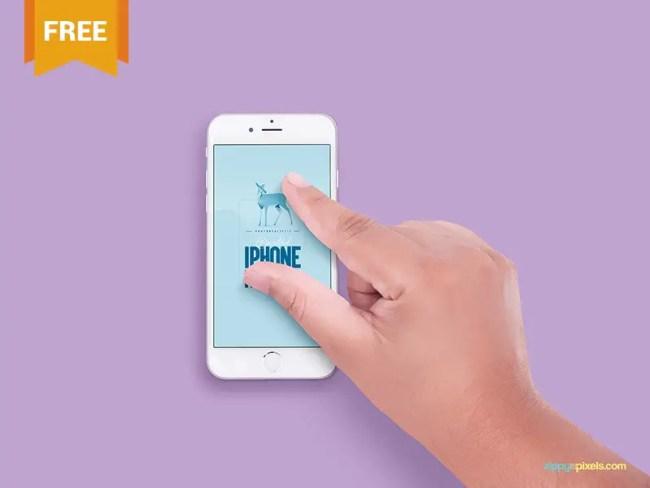 Free Apple iPhone 6S Mockup