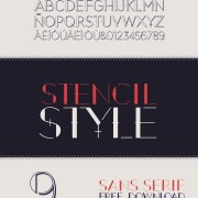 September - A Free Display Font Download