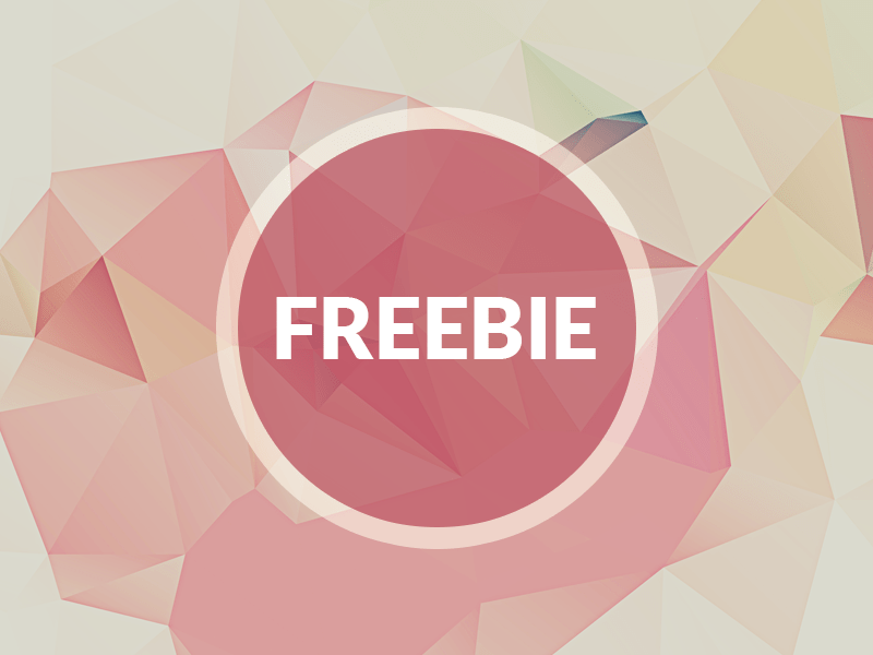 Free Polygonal Background Texture