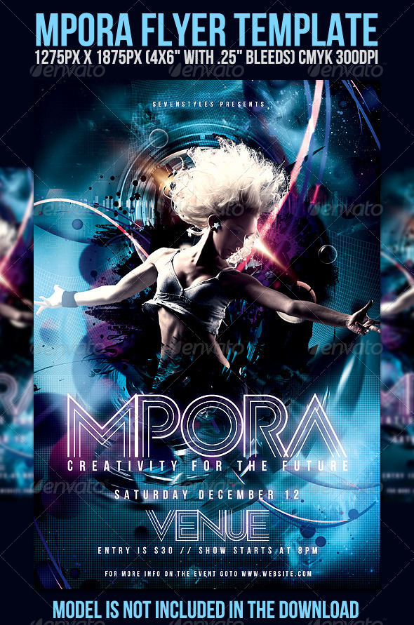 Mpora Flyer Template