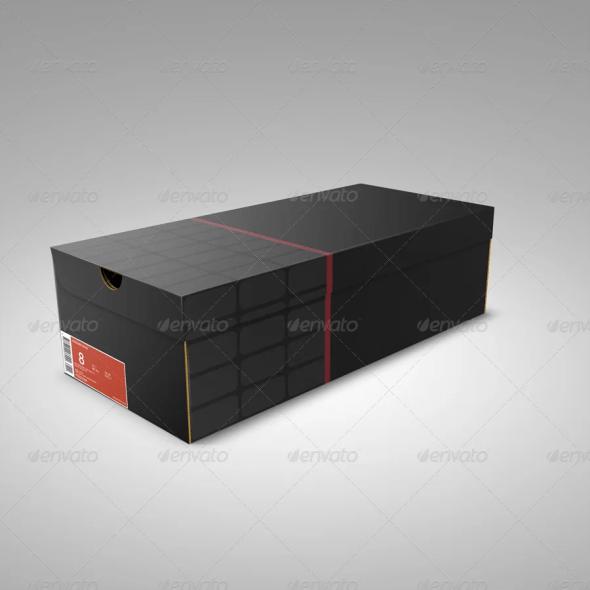 Shoe Box Mockup