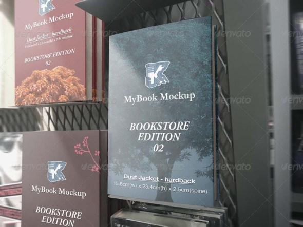 Bookstore Edition 02 Mockup