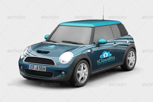 Car Branding Mockup V3