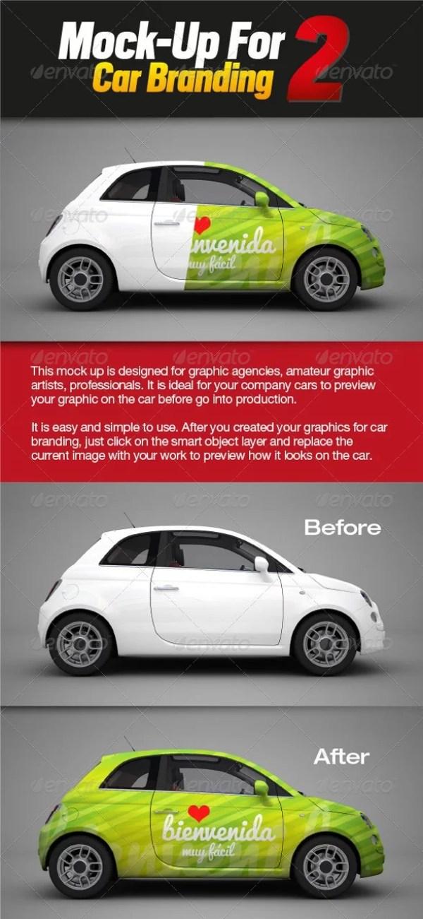 Mockup for Car Branding 2