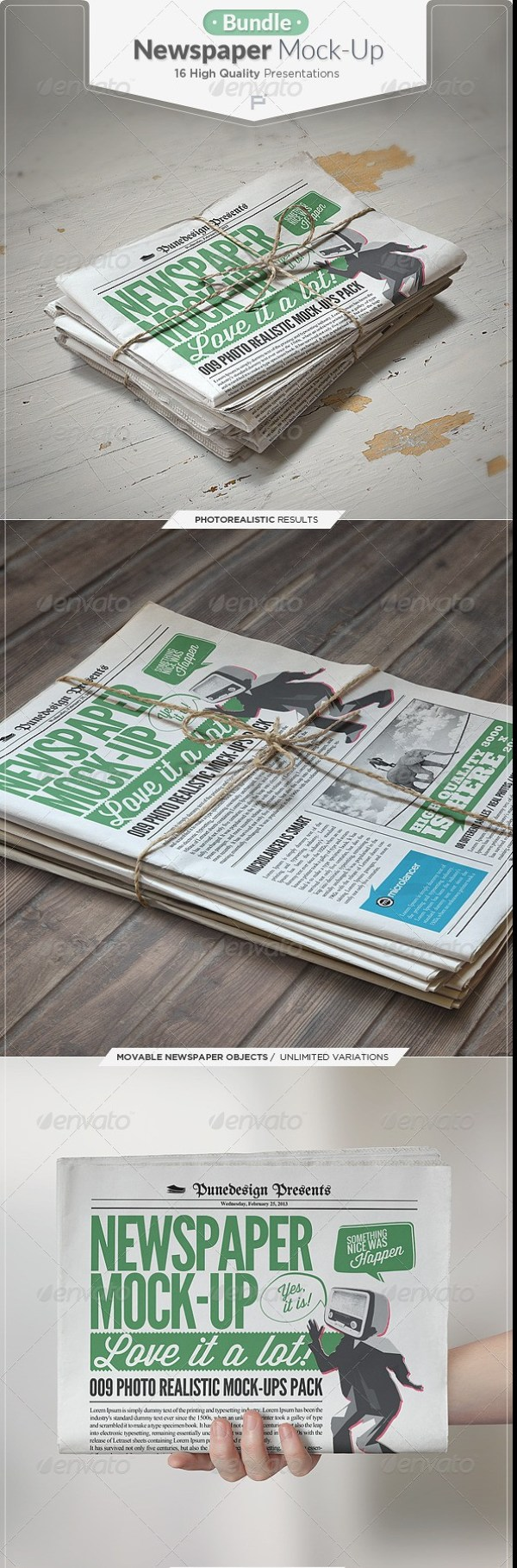 Newspaper-Mockup-Bundle