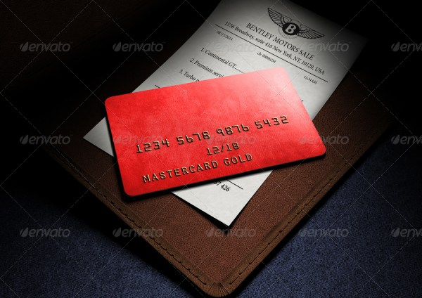 Photorealistic Full-Custom Credit Card Mockup