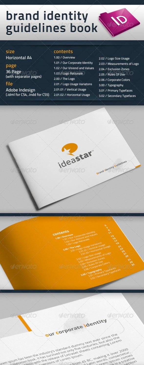 Brand Identity Guidelines Book