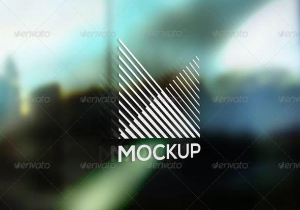 Window Signage Mockup