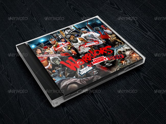 Album CD Cover Mockups