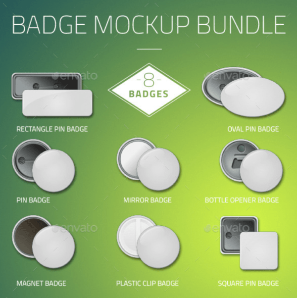 Badge Mockup Bundle