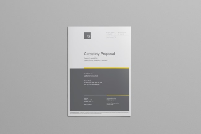 48 Best Business Proposal Templates in InDesign PSD MS Word – Proposal Template Word Free