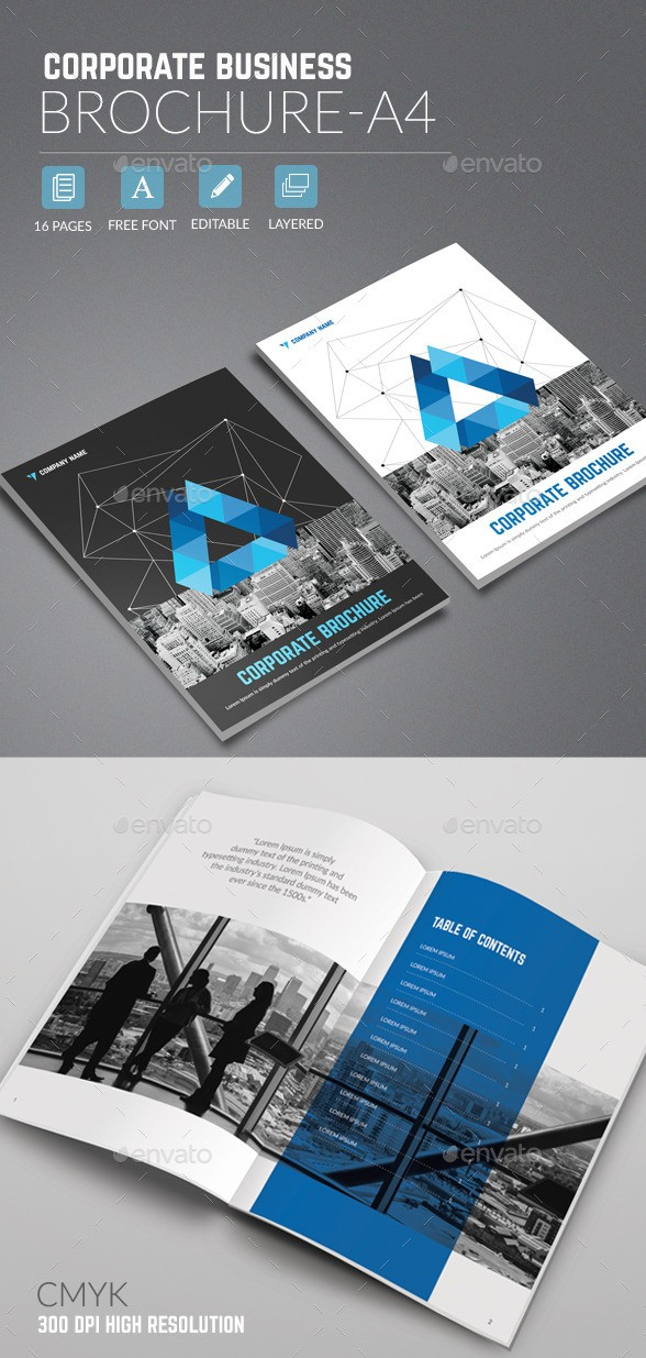 a4 brochure template psd free download - 65 print ready brochure templates free psd indesign ai