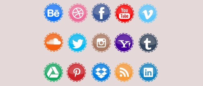Free Custom Social Network Icons
