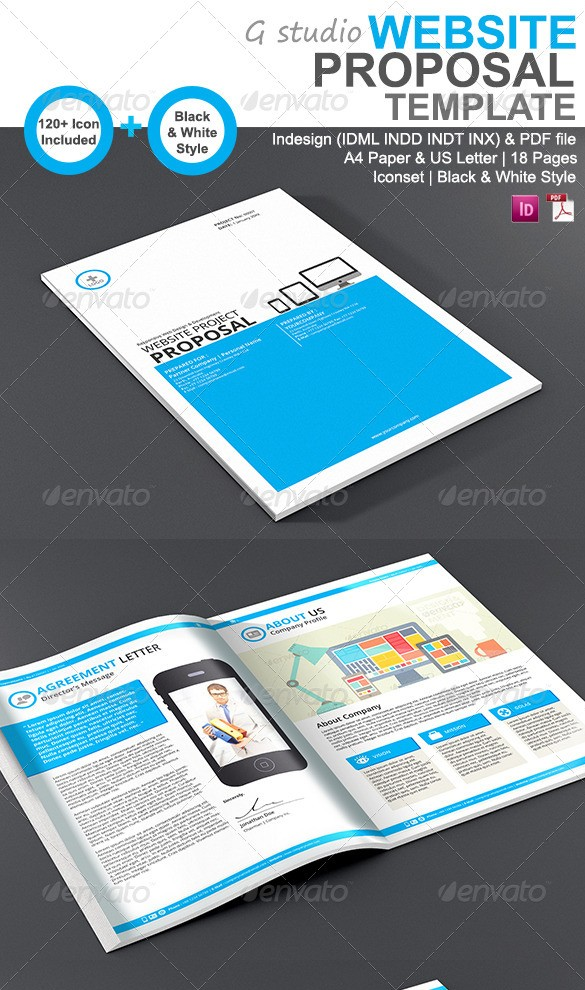 48+ Best Business Proposal Templates in InDesign PSD & MS Word ...