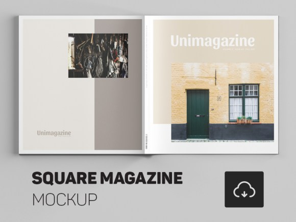 24 magazine mockup templates free psd download psdtemplatesblog free square magazine mockup pronofoot35fo Choice Image