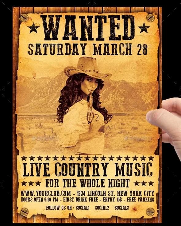 15+ Best Wanted Poster Templates PSD Download - PSDTemplatesBlog
